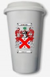 Coat of Arms Ceramic Tumbler with lid